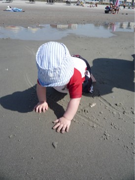 Alex Crawling Beach.jpg